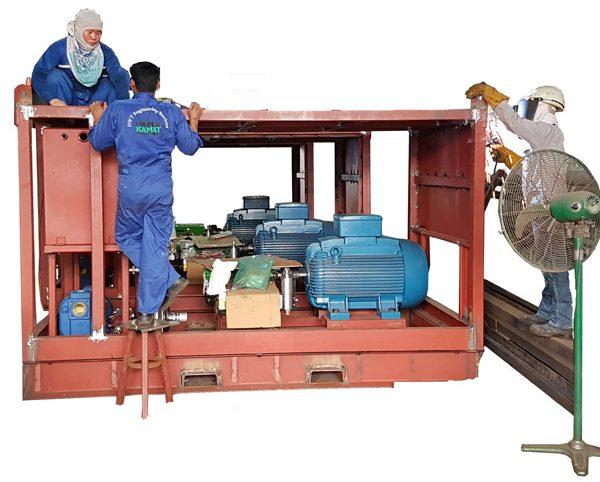 Fabrication of K13036A-3G